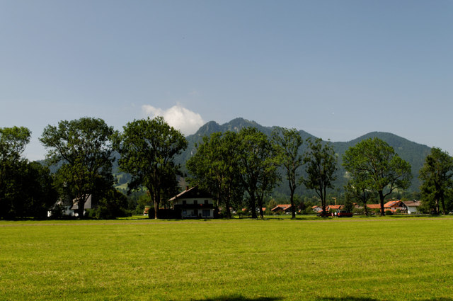Wiese in Lenggries