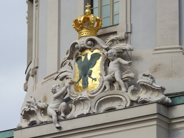 Potsdam - Wappen am Altes Rathaus (Coat of Arms on the Old Town Hall)
