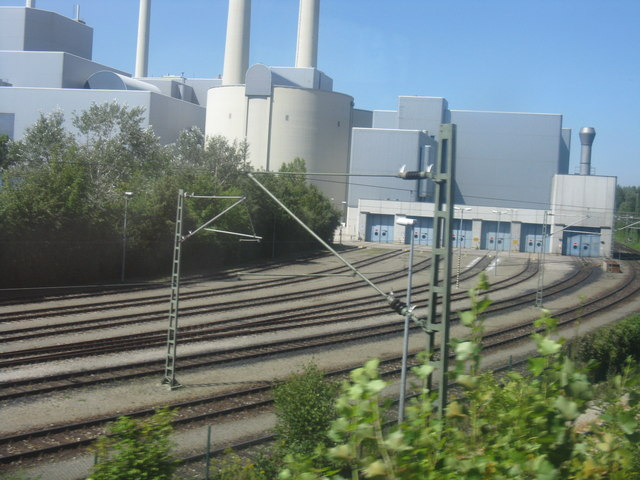 Industrial facility north of Johanneskirchen