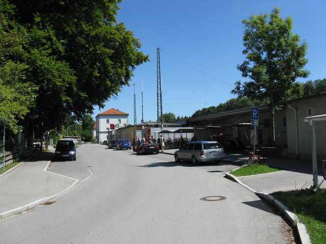 Geltendorf station approach