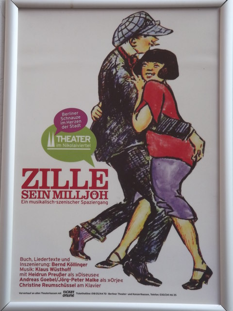 Zille, Sein Milljoh (Zille, His Work)