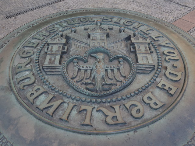 Sigillum de Berlin Burgensium (Berlin City Seal)