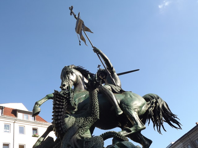 St Georg und Drachen (St George and the Dragon)