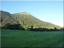 Pfronten-Steinach: Wiese bei der Talstation der Breitenbergbahn