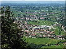Pfronten vom Breitenberg gesehen