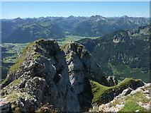 Aggenstein: Blick nach Südsüdwest