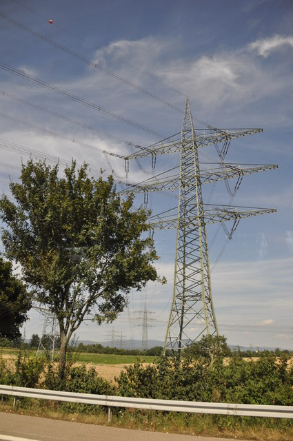Hessen : Electricity Pylon