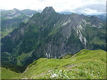 Laufbacher-Eck-Weg: Blick zur Höfats