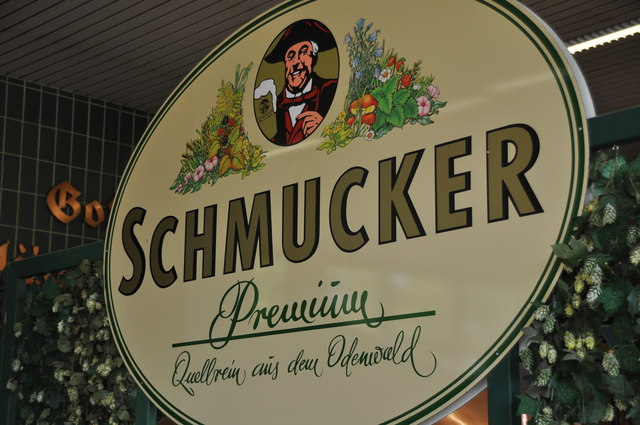 Mossautal : Schmucker Brewery - Logo Display