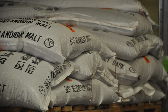 Mossautal : Schmucker Brewery - Malt Sacks