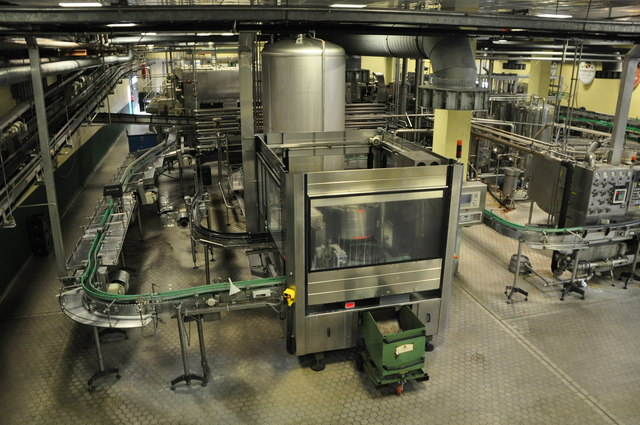Mossautal : Schmucker Brewery - Bottling