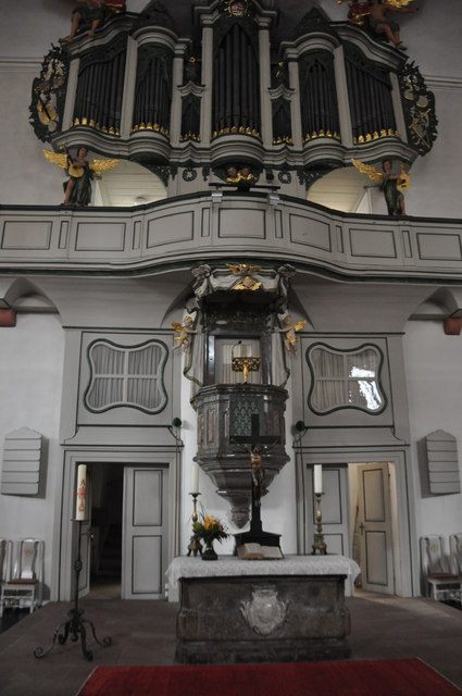 Erbach : Evangelical Church Altar
