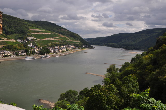 Mainz-Bingen : The River Rhine