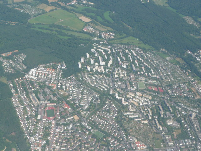 Wiesbaden District : Wiesbaden Aeriel Scenery