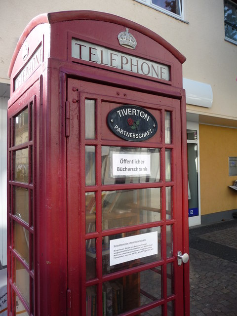 Hofheim am Taunus : British Telephone Box