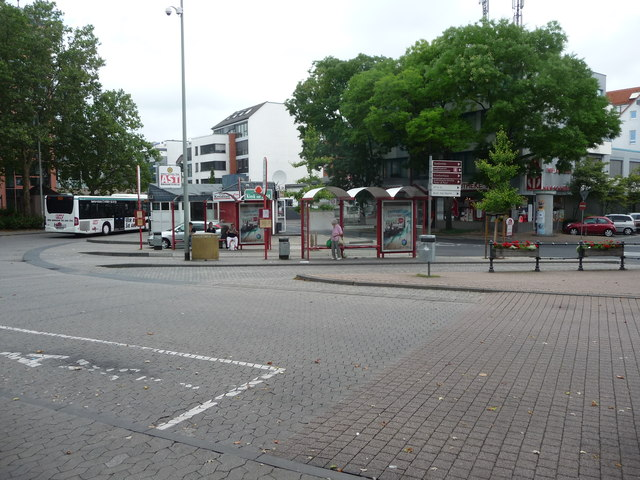 Hofheim am Taunus : The Bus Depot