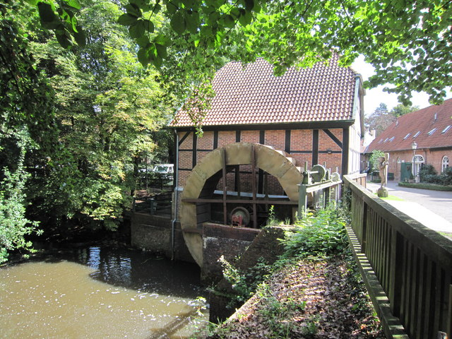 Mill at the Klosterschänke Hude