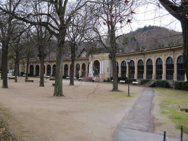 Wandelhalle (Pump room)