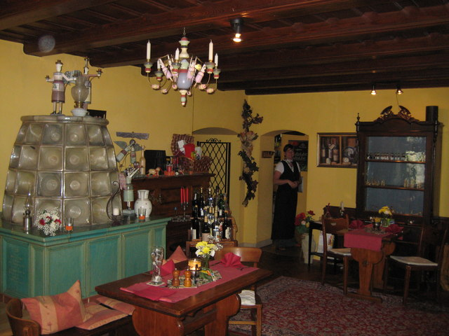 Interior of Inn