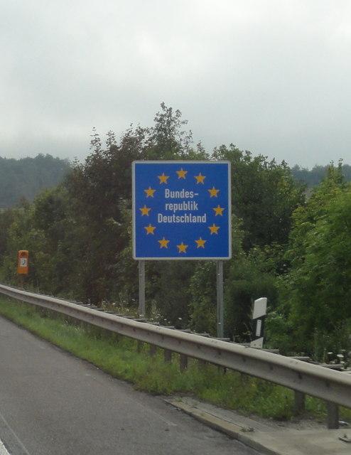 Brief Von Luxemburg Nach Deutschland : Grenze luxemburg deutschland luxembourg german border