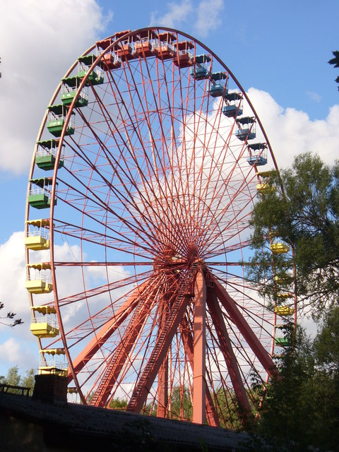 Spreepark - Riesenrad (Big Wheel)