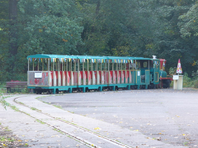 Spreepark - Schmalspurbahn (Miniature Train)