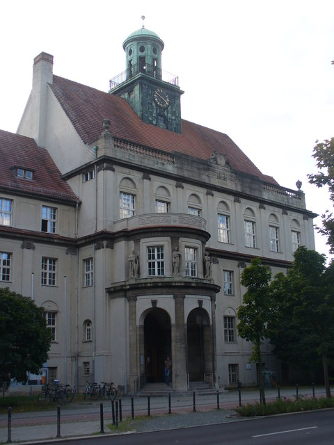 Treptow - Rathaus (Town Hall)