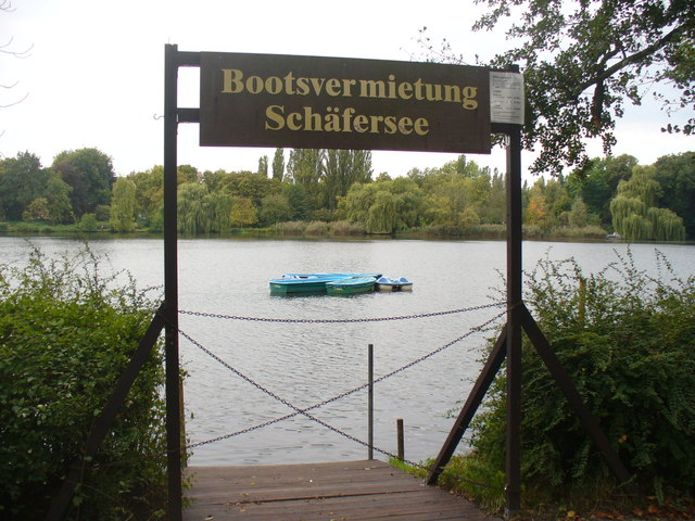 Bootsvermietung Schaefersee (Boats for Hire)