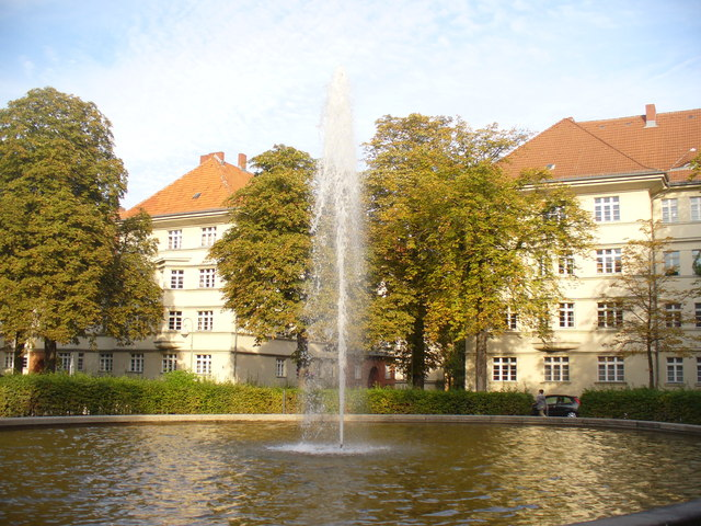 Ceciliengarten - Brunnen (Fountain)