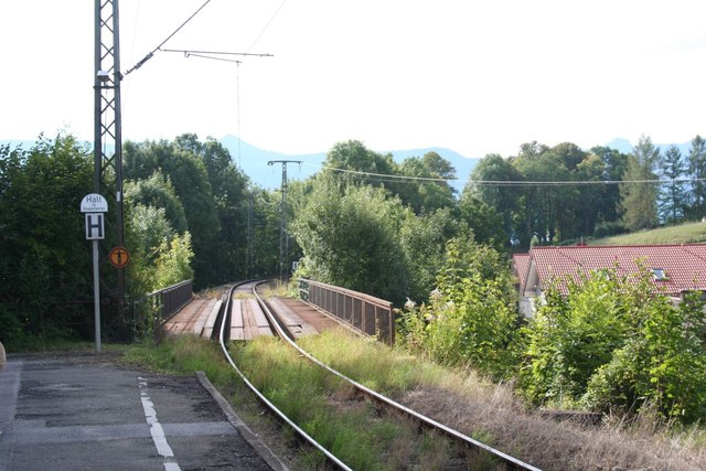 View from Murnau Ort station