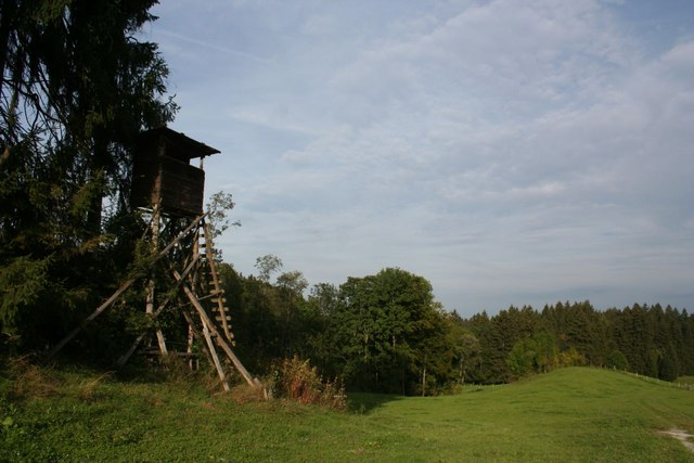 Hunting tower near Kappel