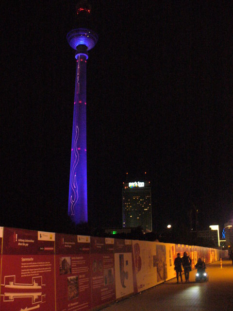 Festival of Lights - Fernsehturm (Television Tower)