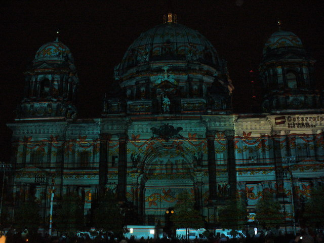 Festival of Lights 2012 - Berliner Dom (Berlin Cathedral)