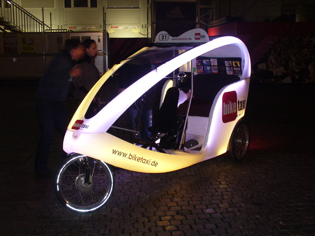 Festival of Lights - Bike Taxi