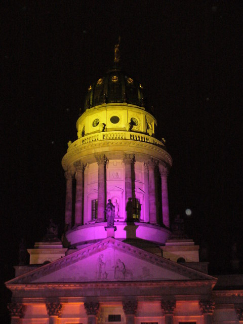 Festival of Lights - Franzosische Domturm (French Cathedral Tower)