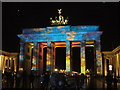 UUU8919 : Festival of Lights - Brandenburger Tor von Colin Smith