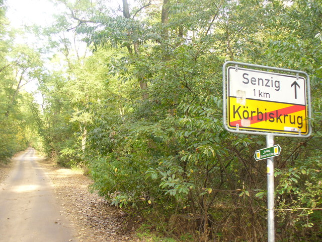Ortsende Koerbiskrug (Village End of Koerbiskrug)