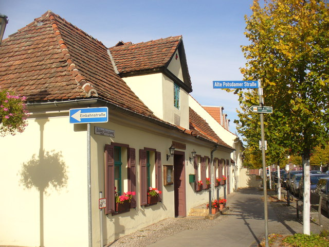 Teltow - Aeltestes Haus (Oldest House)