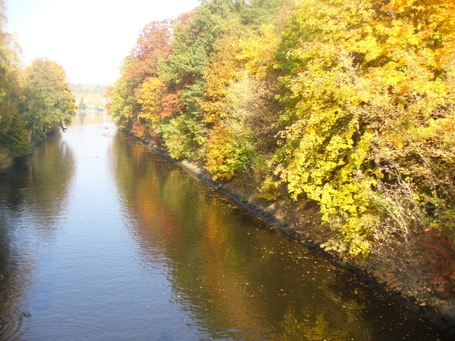 Herbst am Griebnitzkanal (Autumn on the Griebnitz Canal)