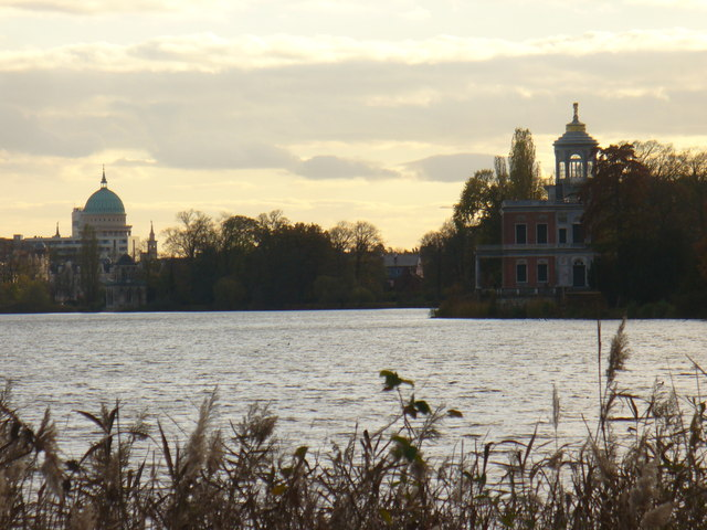 Fruhabend am Heiligen See (Early Evening on the Holy Lake)