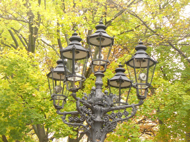 Berlin - Gaslaterne (Gas Lamp)