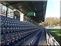 UUU7007 : SV Babelsberg 03 - Tribune (Grandstand) von Colin Smith