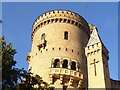 UUU7008 : Schlossturm Babelsberg (Babelsberg Palace Tower) von Colin Smith