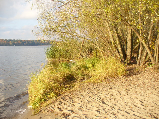 Badestelle Unter dem Havelberg (Bathing Beach Below the Havelberg)
