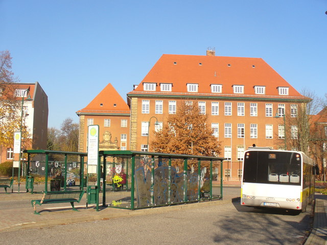 Jueterbog - ZOB (Central Bus Station)
