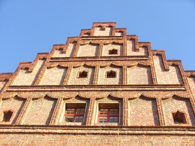 Jueterbog - Rathaus Westgiebel (Town Hall West Gable)