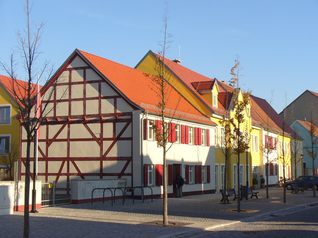 Jueterbog - Fachwerkhaus am Planeberg (Timber-framed Building on Planeberg)