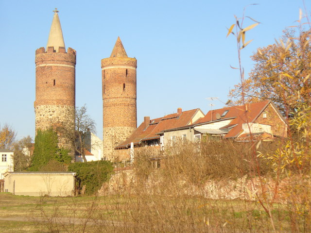 Jueterbog - Stadtturmen und Stadtmauer (City Towers and Wall)
