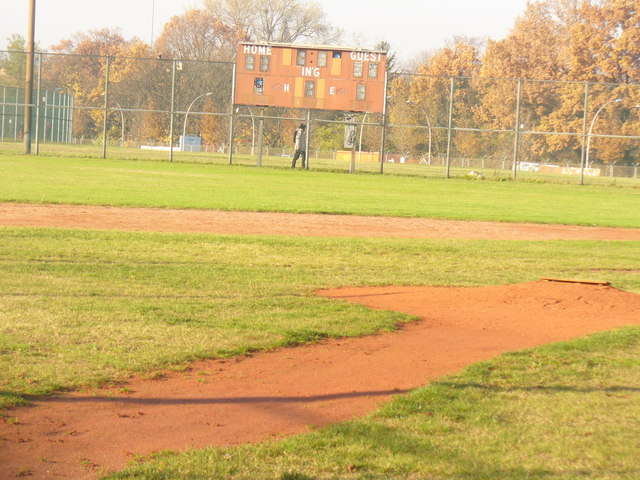 Tempelhofer Feld - Softball