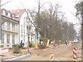 UUU7114 : Gross Glienicke - Strassenbaustelle (Roadworks) von Colin Smith